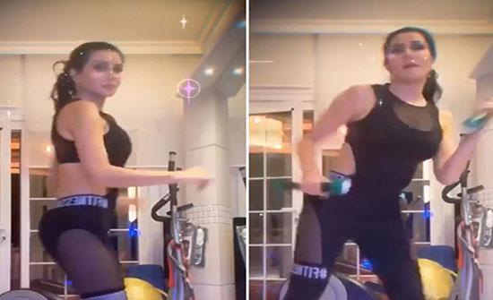 بالفيديو .. جيني اسبر ترقص الزومبا