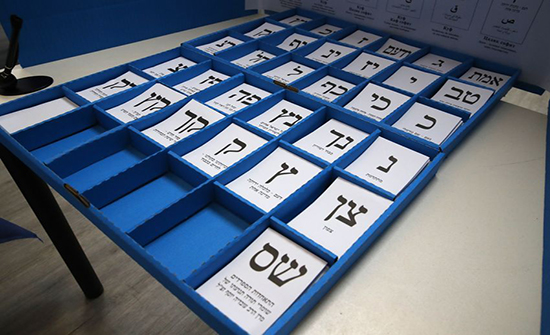 استطلاع: تقدم تحالف أزرق- أبيض على الليكود دون حسم الانتخابات الإسرائيلية