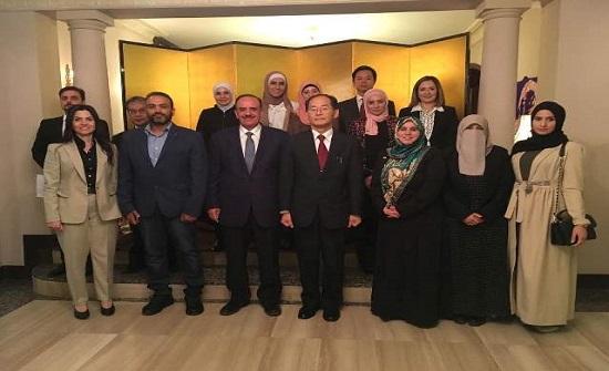 السفير الياباني: (الأردنية) من بين (69) جامعة عالمية تحصل على المنحة اليابانية