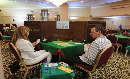تواصل منافسات بطولة الاندية العربية للبريدج