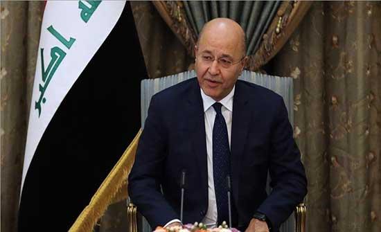 الرئيس العراقي يطالب بتعزيز الدعم الدولي لمحاربة داعش
