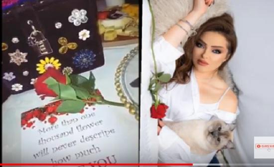 بالفيديو : سهرة زين كرزون في عيد الحب