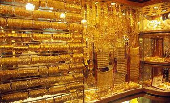 تراجع أسعار الذهب عالميا لأدنى مستوى فى أسبوع