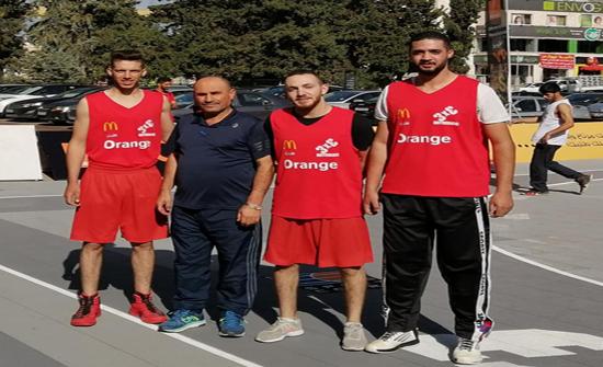جامعة إربد الأهلية تحرز المركز الثالث في بطولة كرة السلة على مستوى الجامعات الأردنية