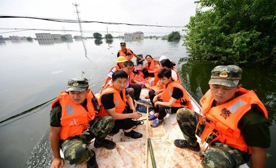 الصين: مصرع وفقدان 15 شخصا جراء العواصف المطرية