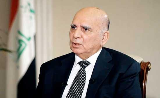 وزير الخارجية العراقي: يجب استثمار الانتصار في غزة وتفعيله سياسيا