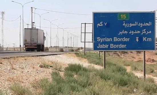 57 شاحنة تدخل جابر و 15 مليونا خسائر القطاع