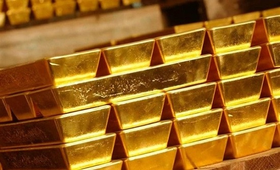 هبوط بأسعار الذهب