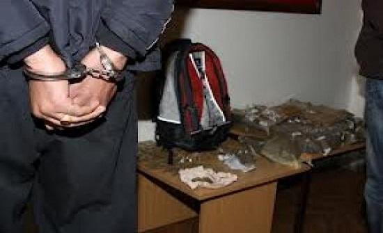 ضبط مروج مخدرات بالزرقاء الجديدة