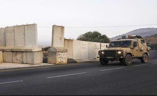 قوة اسرائيلية تخرق السياج التقني الحدودي مع لبنان