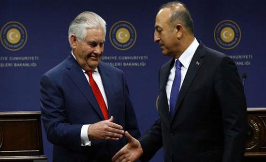 تيلرسون يقترح تشكيل مجال أمني لتركيا بعفرين