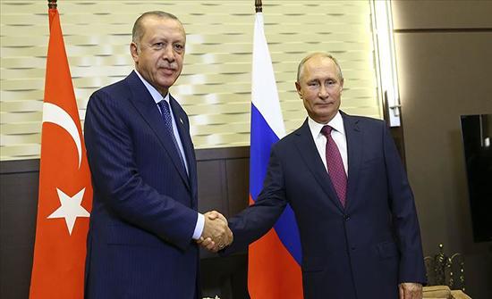 أردوغان لبوتين: هجمات النظام على إدلب تهدد الأمن القومي التركي