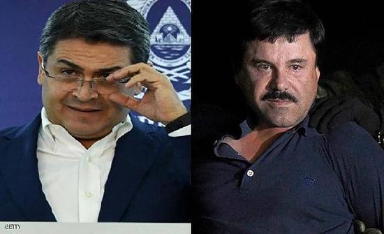 "أميركا.. اتهام رئيس هندوراس بتلقي رشاوى من ""إل تشابو"""