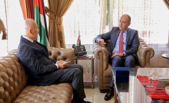 وزير الدّولة لشؤون الإعلام يستقبل السفير التركي