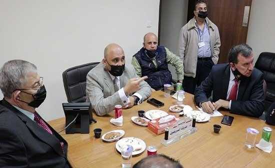 لجنة الصحة النيابية تتفقد مستشفيات محافظة الزرقاء
