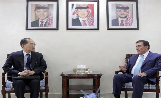 رئيس مجلس النواب يلتقي وزير خارجية سلوفينيا وسفير اليابان