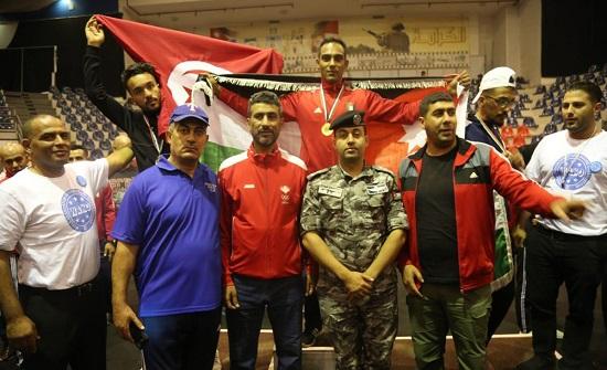 لاعبو الدرك يحصدون الذهب في البطولة العربية للكيك بوكسينغ - اسماء