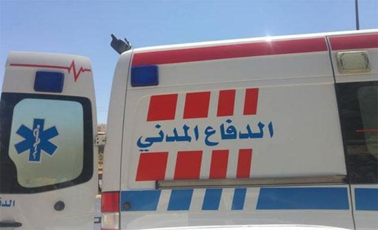220 إصابة تعامل معها دفاع مدني المفرق خلال عيد الأضحى