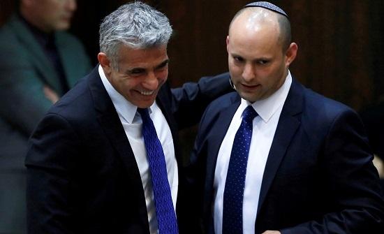 الرئيس الإسرائيلي: نفتالي بينيت ويائير لابيد سيتناوبان على تولي منصب رئيس الوزراء
