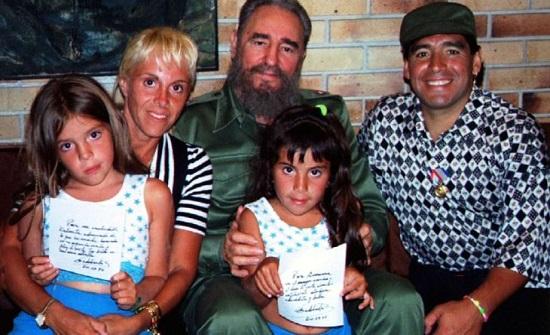 """مارادونا اليساري..""""تشي الرياضة"""" و""""ابن"""" كاسترو و""""جندي"""" مادورو – فيديو"""
