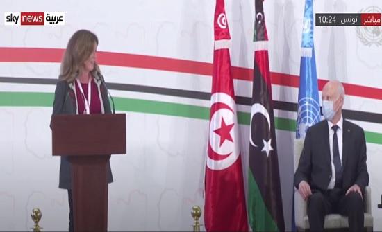 انطلاق الحوار السياسي الليبي في تونس