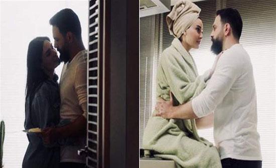 حملها بروب الاستحمام وحاول أن يقبلها.. فيديو لتيم حسن يحدث ضجّة!