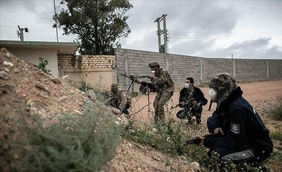 الجيش الليبي يدحر مليشيا حفتر من بلدة قرب حدود تونس