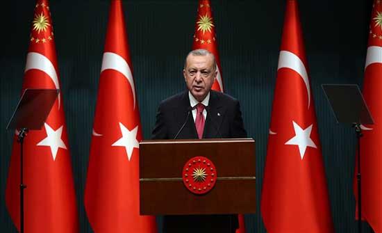 تركيا.. أردوغان يعلن قرارات جديدة تخفف قيود كورونا