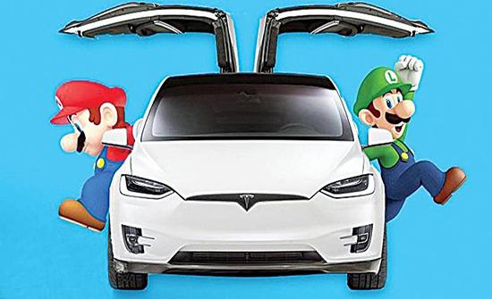 ألعاب الفيديو تصل إلى السيارات الذكية