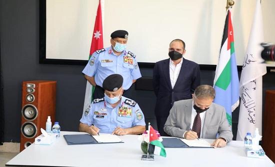 نائب الملك يشهد توقيع مذكرة تفاهم لتأطير التعاون بين الهيئة الملكية الأردنية للأفلام ومديرية الأمن العام