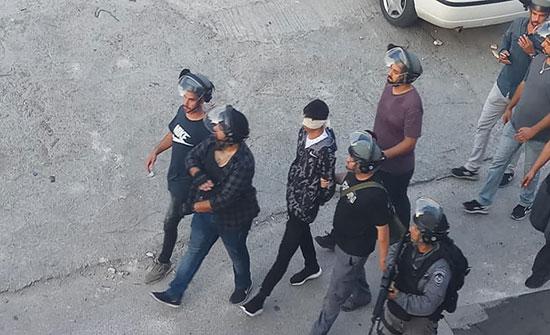 الاحتلال يعتقل 19 فلسطينيا بعد مواجهات عنيفة بالقدس (شاهد)