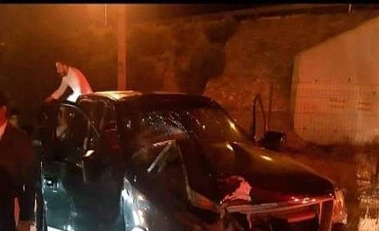 فنان لبناني يتعرض لحادث سير في الأردن