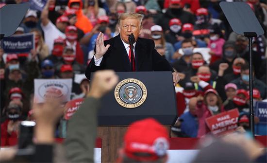 أميركا.. أسبوع حاسم بالحملة الرئاسية وترامب يرد على تهمة رفع راية الهزيمة البيضاء