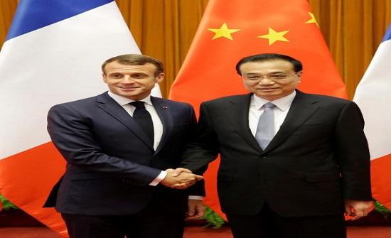 الصين وفرنسا تبرمان اتفاقيات بـ 15 مليار دولار في الطاقة والزراعة والطيران