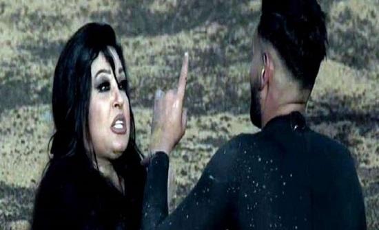 """فيفي عبده تتوسل لـ رامز جلال: """"ورحمة أمك كفاية إنت مش طبيعي"""" (فيديو)"""