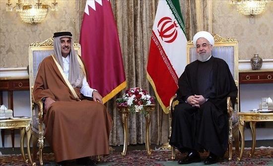 روحاني لأمير قطر: إيران تسعى لإحلال الاستقرار بالمنطقة