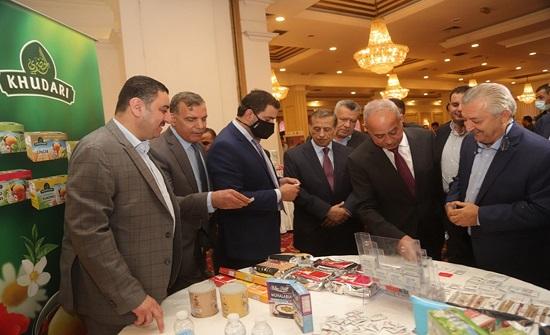 افتتاح المعرض والملتقى التشبيكي بين الصناعة الأردنية وقطاع المستشفيات الخاصة
