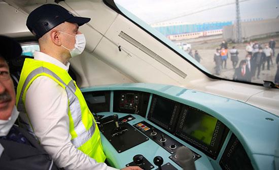 تركيا تستعد لتجربة أول قطار محلي الصنع .. بالفيديو