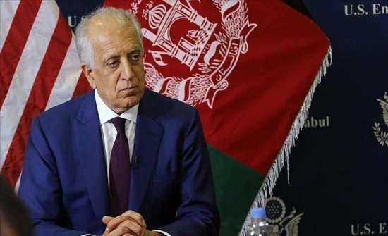 المبعوث الأمريكى يطالب الحكومة الأفغانية وطالبان بإيجاد طريق لتسوية سياسية