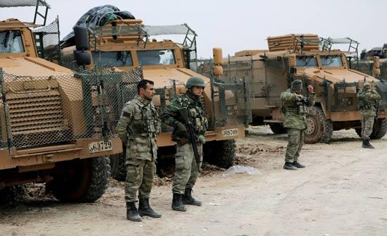 مدفعية جيش الأسد تقصف رتلاً عسكرياً تركياً بريف حلب