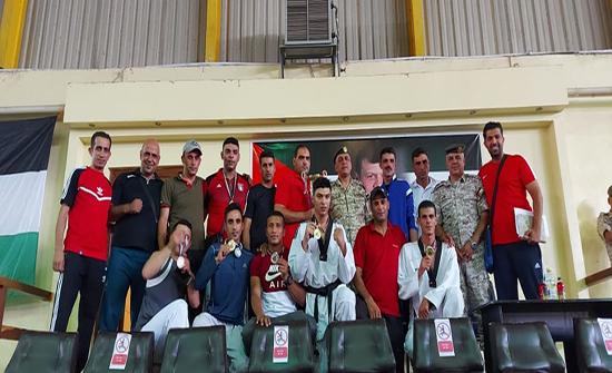 فريق القوات الخاصة يتوج بلقب البطولة العسكرية للتايكواندو