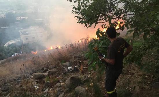 حرائق في احراج لبنان ومخاوف من تكرار الكارثة البيئية