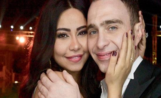 شيرين تنفي خلافها مع زوجها بصورة رومانسية جداً..