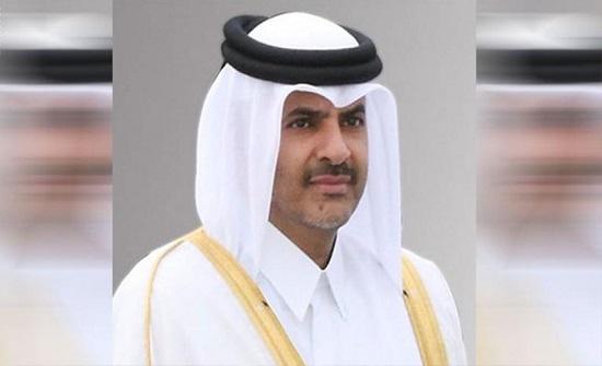 رئيس الوزراء القطري يلتقي نظيره الفلسطيني