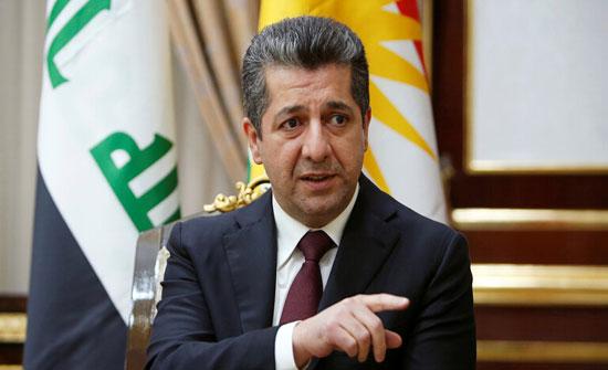 رئيس وزراء كردستان العراق يرحب بدعوة الكاظمي للحوار ويؤكد استعداده للتوصل لاتفاق