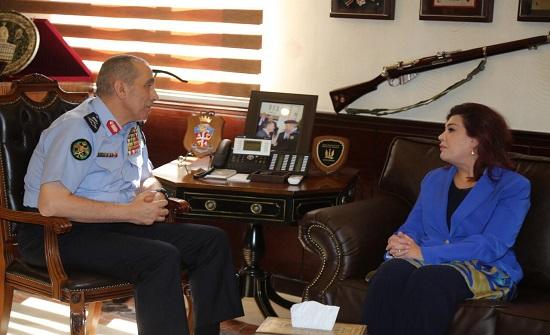 الحمود يستقبل السفيرة العراقية في مكتبه