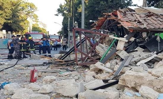 """تحويلات مرورية بمنطقة """"الرينبو"""" بسبب الانفجار"""
