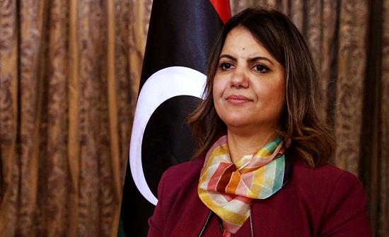 وزيرة الخارجية الليبية تؤكد التزام حكومة الوحدة الوطنية بمكافحة الإرهاب