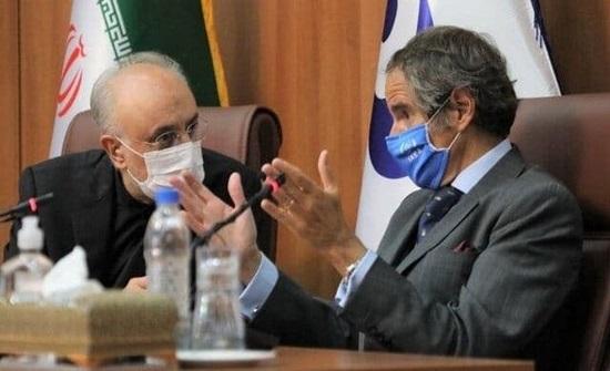 زيارة غروسي لم توقف تصعيد إيران وظريف يتهم بايدن باتباع سياسة ترمب
