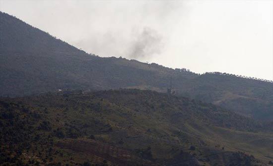 المدفعية التركية تواصل قصف مواقع الإرهابيين في عفرين
